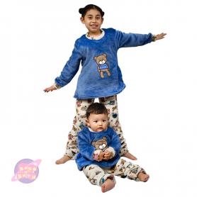 pijama bebe, pijama niña, pijama osos