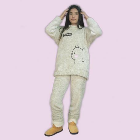 Pijama Dama oso Family