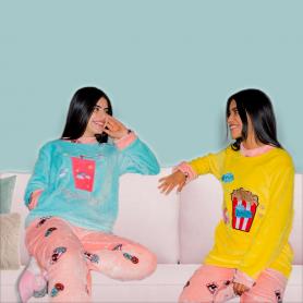 Pijama Dama Popetas